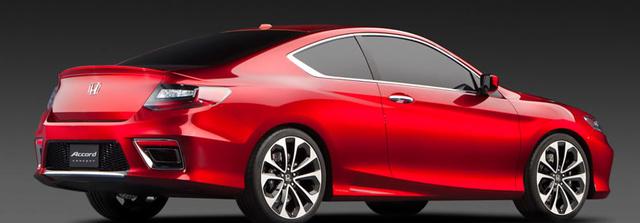 2013 Honda Accord Coupe, Back quarter view. , exterior, manufacturer