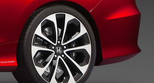 2013 Honda Accord Coupe, Front tire., manufacturer, exterior