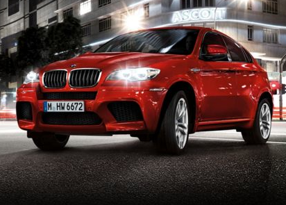 2013 BMW X6 M, Front quarter view copyright AOL Autos., manufacturer, exterior