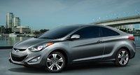 2013 Hyundai Elantra Coupe, Front quarter view., exterior, manufacturer