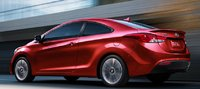 2013 Hyundai Elantra Coupe, Back quarter view., exterior, manufacturer