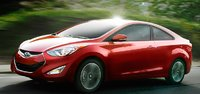 2013 Hyundai Elantra Coupe, Side View., manufacturer, exterior