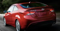 2013 Hyundai Elantra Coupe, Back quarter view., manufacturer, exterior