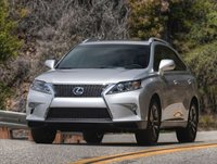 2013 Lexus RX 350, Front quarter view., exterior, manufacturer, gallery_worthy
