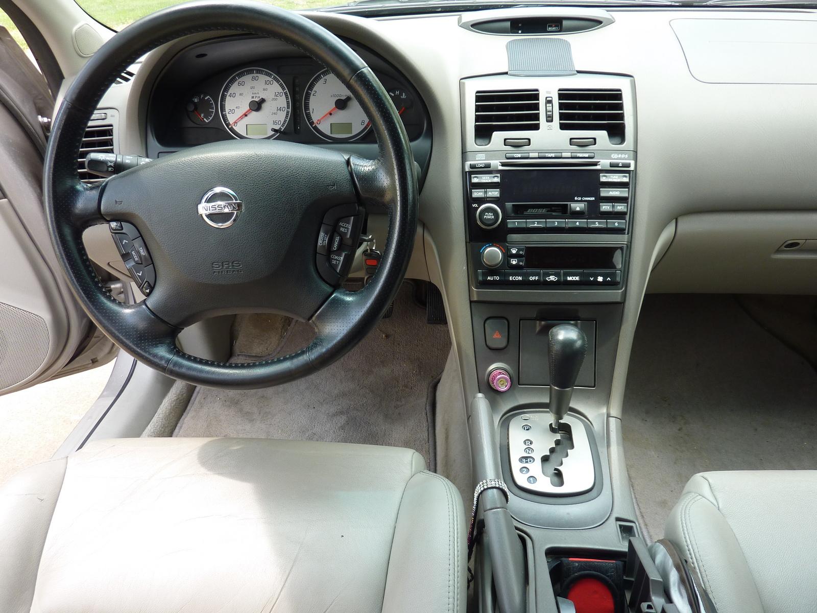 2002 Nissan Maxima Interior Pictures Cargurus