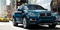 2013 BMW X6, Front View., exterior, manufacturer