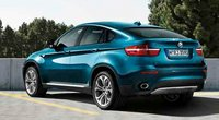 2011 BMW X6, Back quarter view., exterior, manufacturer