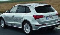 2013 Audi Q5 Hybrid, Back quarter view. , exterior, manufacturer
