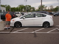 2012 Toyota Prius Four, The first time I got to see my car :), exterior