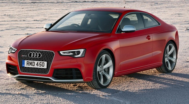 2013 Audi RS 5, Front quarter view., exterior, manufacturer