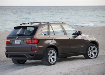 2013 BMW X5, Back quarter view copyright AOL Autos., manufacturer, exterior