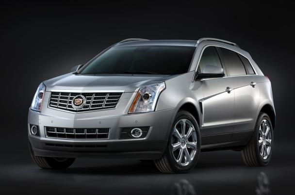 2013 Cadillac SRX, Front quarter view., exterior, manufacturer