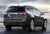 2013 Chevrolet Traverse, Back quarter view., exterior, manufacturer