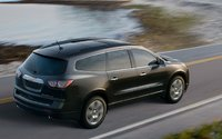 2013 Chevrolet Traverse, Back quarter view., exterior, manufacturer, gallery_worthy