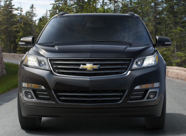 2013 Chevrolet Traverse, Front View., exterior, manufacturer