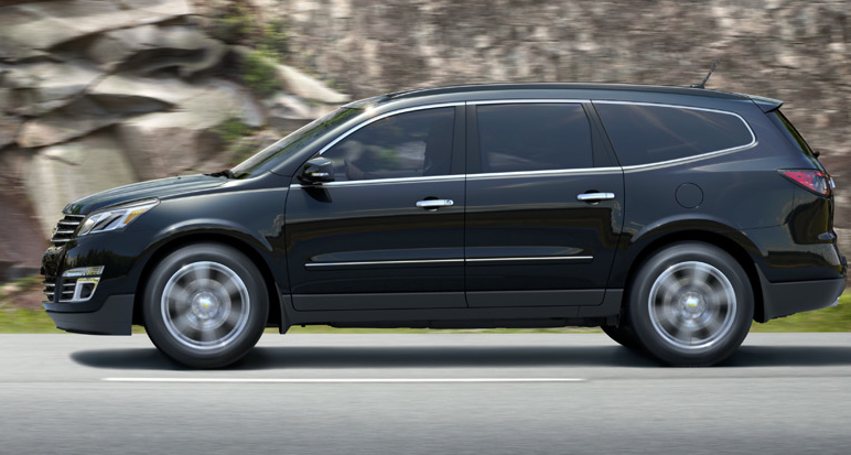 2013 Chevrolet Traverse, Side View., manufacturer, exterior