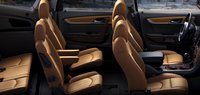 2013 Chevrolet Traverse, Front and back seat., interior, manufacturer
