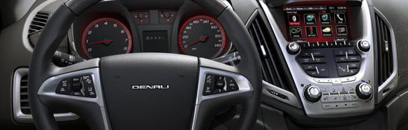 2013 GMC Terrain, Steering wheel., interior, manufacturer
