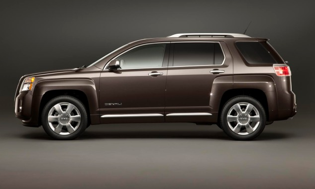 2013 GMC Terrain, Side View., exterior, manufacturer