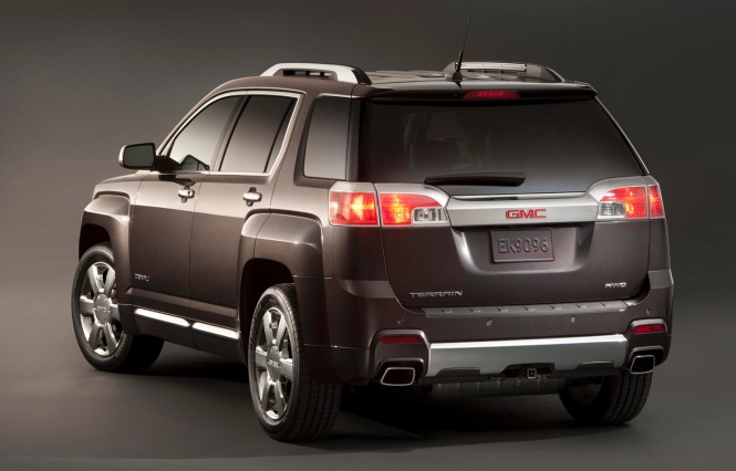 2013 GMC Terrain, Back View., exterior, manufacturer