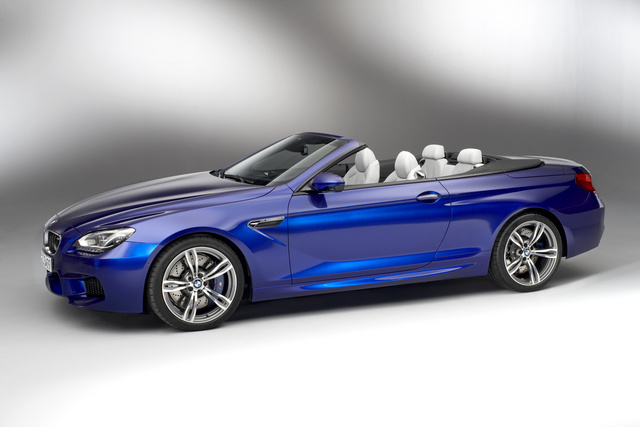 2013 BMW M6, Front-quarter view, exterior, manufacturer, gallery_worthy
