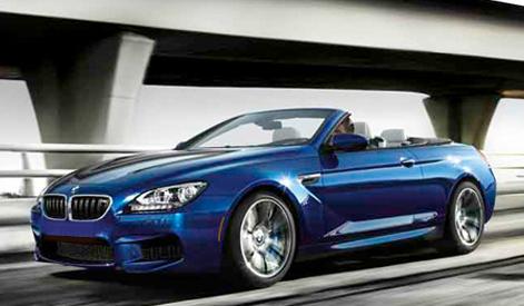 2013 BMW M6, Front quarter view., exterior, manufacturer
