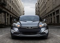 2013 Hyundai Genesis Coupe, Front View., exterior, manufacturer