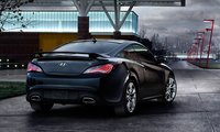 2013 Hyundai Genesis Coupe, Back quarter view., manufacturer, exterior