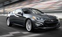 2013 Hyundai Genesis Coupe, Front quarter view., exterior, manufacturer