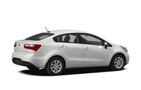 2013 Kia Rio, Back quarter view copyright AOL Autos., exterior, manufacturer