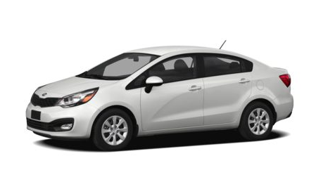 2013 Kia Rio, Front quarter view copyright AOL Autos., manufacturer, exterior