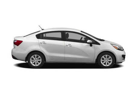 2013 Kia Rio, Side View copyright AOL Autos., exterior, manufacturer