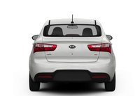 2013 Kia Rio, Back View copyright AOL Autos., exterior, manufacturer