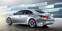 2013 Lexus ES 350, Back quarter view., manufacturer, exterior