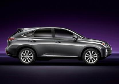 2013 Lexus RX 450h, Side View., exterior, manufacturer