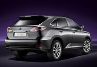 2013 Lexus RX 450h, Back quarter view., exterior, manufacturer, gallery_worthy
