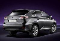 2013 Lexus RX 450h, Back quarter view., exterior, manufacturer