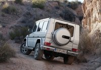 2013 Mercedes-Benz G-Class, Back quarter view., manufacturer, exterior