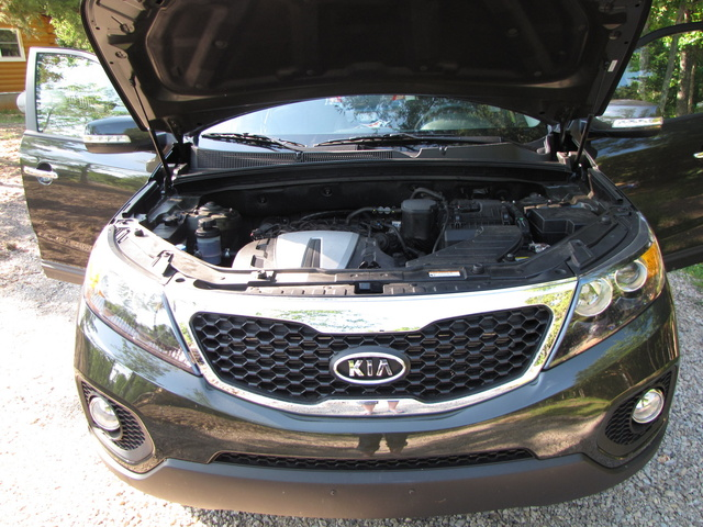 Picture of 2012 Kia Sorento EX, exterior, engine