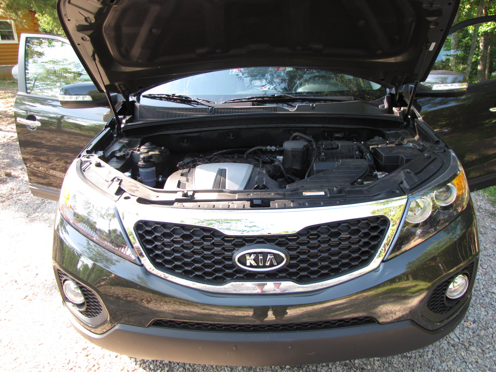 Picture of 2012 Kia Sorento EX, exterior, engine