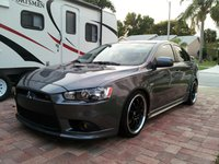 2009 Mitsubishi Lancer Ralliart, On D2 RS coilovers, exterior