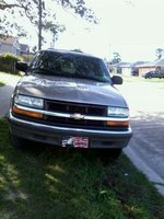 2000 Chevrolet Blazer, front, exterior