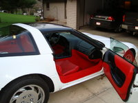 1995 Chevrolet Corvette Coupe, Picture of 1995 Chevrolet Corvette 2 Dr STD Hatchback, interior