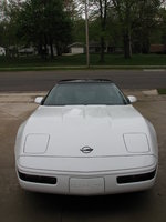 1992 Chevrolet Corvette Coupe, Picture of 1992 Chevrolet Corvette 2 Dr STD Hatchback, exterior