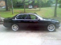 1993 BMW 5 Series, Use to ride m parallel , exterior