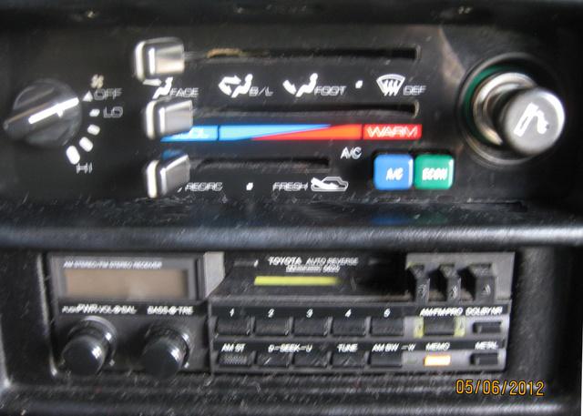 1986 Toyota Mr2 Interior Pictures Cargurusrhcargurus: Toyota Mr2 Radio At Gmaili.net