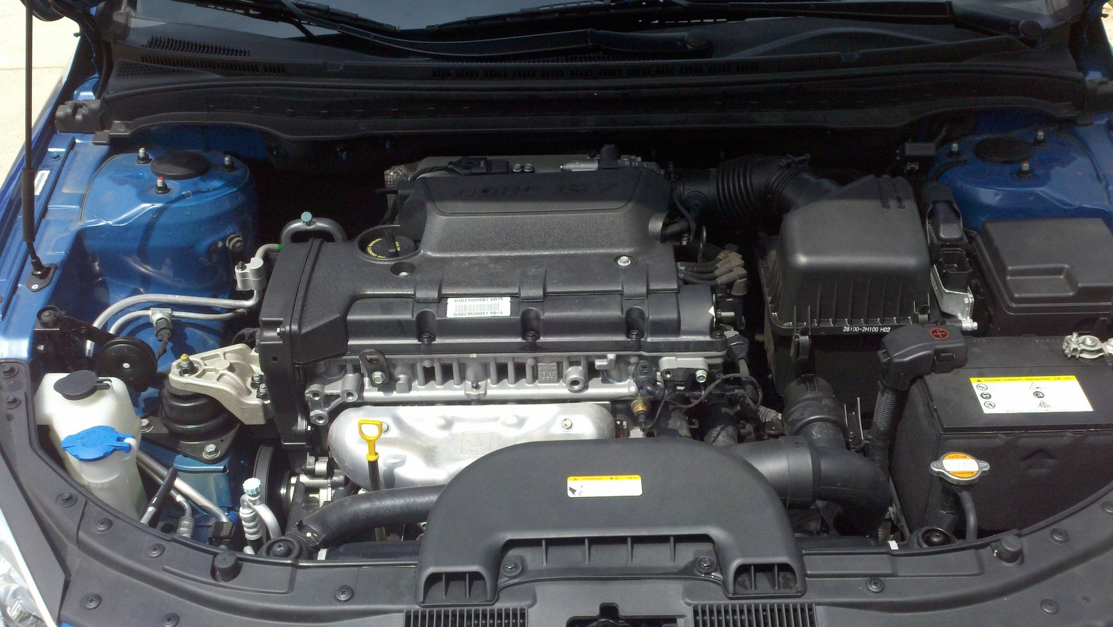 Picture of 2010 Hyundai Elantra Touring GLS, engine