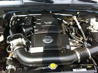 Picture of 2005 Nissan Frontier 4 Dr SE 4WD Crew Cab SB, engine
