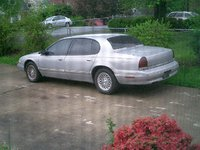 1994 Chrysler New Yorker Base, My Chrysler in my driveway, exterior