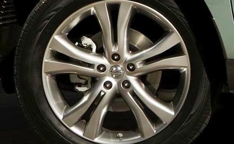 2012 Nissan Murano CrossCabriolet, Front tire., exterior, manufacturer